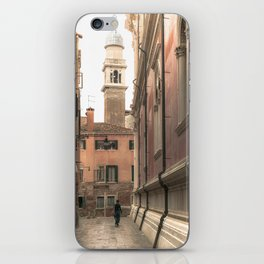 living in Venice 2  Venitian street life simply iPhone Skin