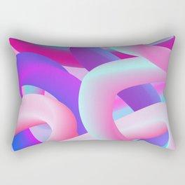 digital dream Rectangular Pillow