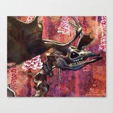 Elk Blossom Canvas Print