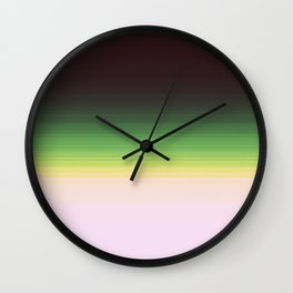 Forest Ombre Wall Clock