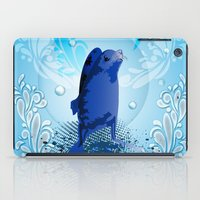 walrus iPad Cases featuring Cute walrus  by nicky2342