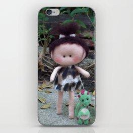 Jurassic Girl Doll iPhone Skin