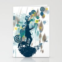 le petit prince Stationery Cards featuring le petit prince 2010 by frederic levy-hadida