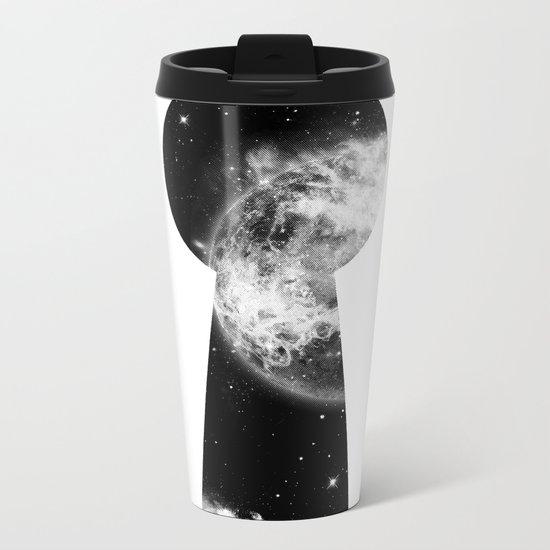 Key To The Stars Metal Travel Mug