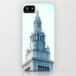 Cleveland Terminal Tower Sunny Morning iPhone Case