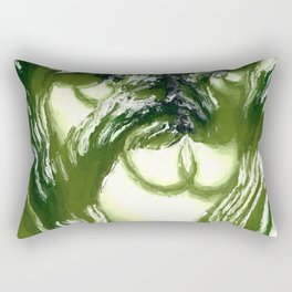 Vegetation. Abtract Art by Tito Rectangular Pillow