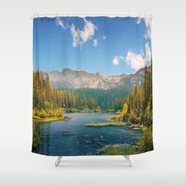 Penetrating in nature Shower Curtain
