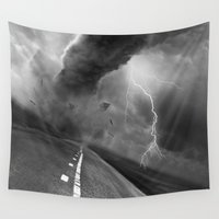 playstation Wall Tapestries featuring Storm by eARTh