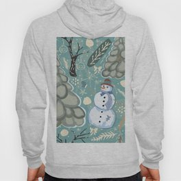 Happy Snowman Hoody