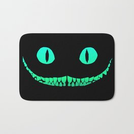 Cheshire black smile Bath Mat