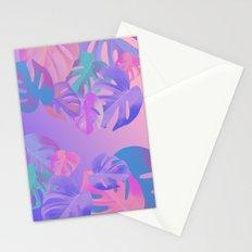Monstera multi Stationery Cards