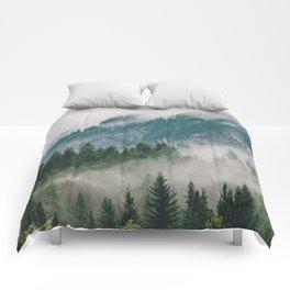 Vancouver Fog Comforters