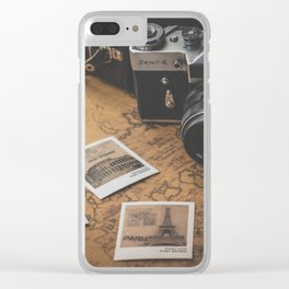 Pure Wanderlust (Photographs Traveling the World) Clear iPhone Case