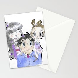 Phoenix Wright and Company! Stationery Cards