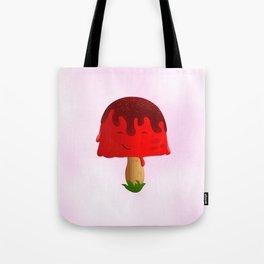 Frozen Mushroom Tote Bag