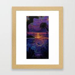 The Cove Framed Art Print