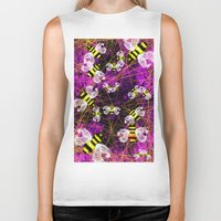 bees Biker Tanks featuring Bees by Marven RELOADED