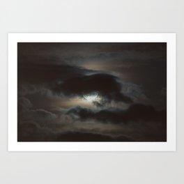 Supermoon | March 19, 2011 Art Print