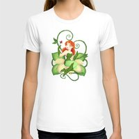 poison ivy T-shirts featuring Poison Ivy  by Katie Simpson a.k.a. Redhead-K