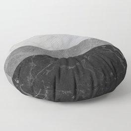 Marble - White, Grey, Black Floor Pillow