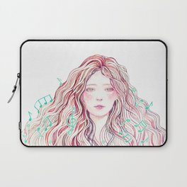 Music Girl Laptop Sleeve