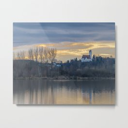 Looking towards St.Martin Church Metal Print