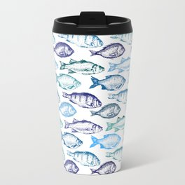 Blue Fish Travel Mug