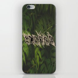 Hustle Nature iPhone Skin