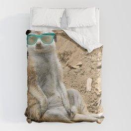 Sunny Meerkat Duvet Cover