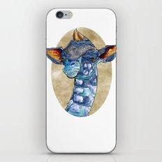 Zen Giraffe - Watercolour iPhone & iPod Skin