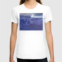 geology T-shirts featuring Frozen Sea of Neptune by Phil Perkins