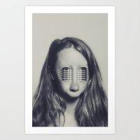 charmaine Art Prints featuring Eyes by Charmaine de Heij - Travel Photography