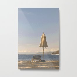 A PLACE IN THE SUN. Metal Print