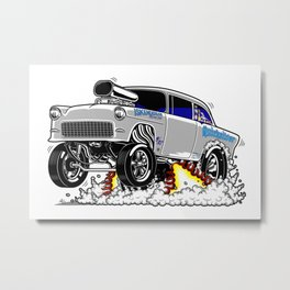 Quicksilver Gasser Metal Print