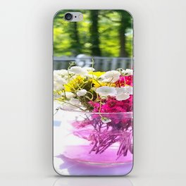 Wedding Flowers iPhone Skin