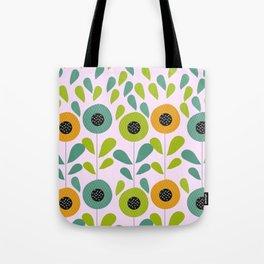 Cheery spring flowers Tote Bag