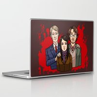 dramatical murder Laptop & iPad Skins featuring Murder Family by Will Norton