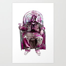 Notorious Big *King* Art Print