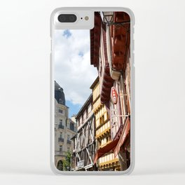 Vannes 2 Clear iPhone Case