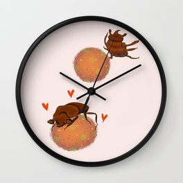 It's a Love Story Wall Clock