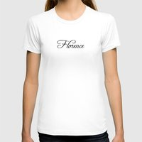 florence T-shirts featuring Florence by Blocks & Boroughs