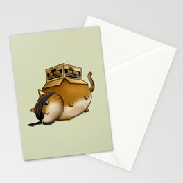 Meowtal Gear Solid Stationery Cards