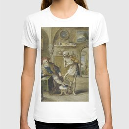 Frans Francken the Younger - Death Playing the Violin (Death and a Money-Lender) T-shirt