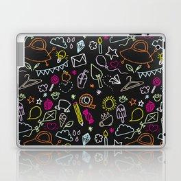 chalkboard doodles Laptop & iPad Skin