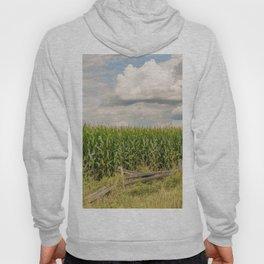 Landscape corn field Hoody