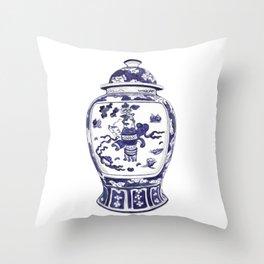 GINGER JAR No.2 Throw Pillow