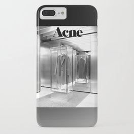 ACNE - BLACK WHITE iPhone Case
