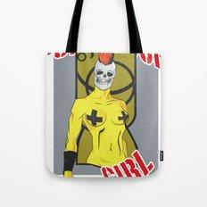 Punk rock Girl Tote Bag