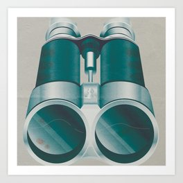 Bloody Binoculars Art Print