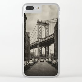 Once upon a time in America Clear iPhone Case